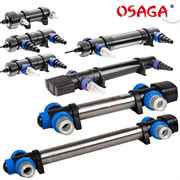 alle Modelle der Osaga UVC Teichklärer Geräte