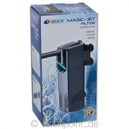 Resun aquarium innenfilter magic serie schwammfilter for Aquarium innenfilter