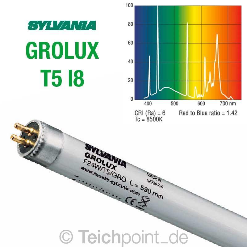 Sylvania Grolux Aquarium Leuchtmittel Pflanzenlicht Leuchtstoffrohre