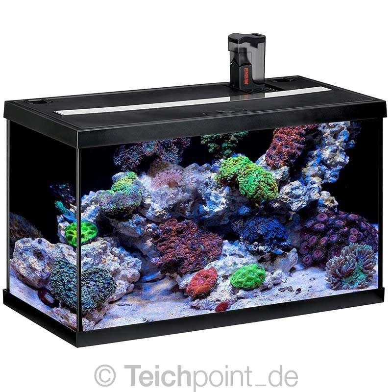 eheim aquarium komplett set aquastar marine 63 led meerwasser seewasser ebay. Black Bedroom Furniture Sets. Home Design Ideas