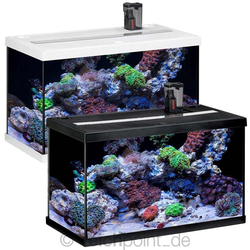 eheim aquarium komplett set aquastar marine 63 led meerwasser seewasser ebay. Black Bedroom Furniture Sets. Home Design Ideas
