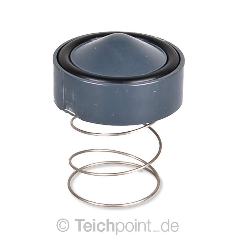 pvc r ckschlagventil mit klebemuffen teich filter pool schwimmbad fitting ebay. Black Bedroom Furniture Sets. Home Design Ideas