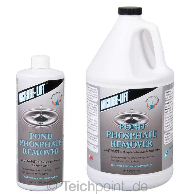 microbe lift phosphate remover koi teich phosphatbinder. Black Bedroom Furniture Sets. Home Design Ideas
