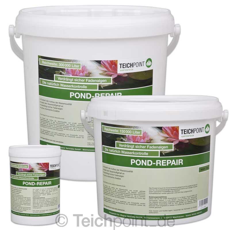 Teichpoint pond repair keine fadenalgen koi teich gegen for Koi pond repair