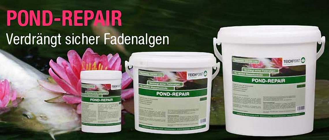 pond repair gegen fadenalgen kaufen 10 kg f r 30000 liter. Black Bedroom Furniture Sets. Home Design Ideas