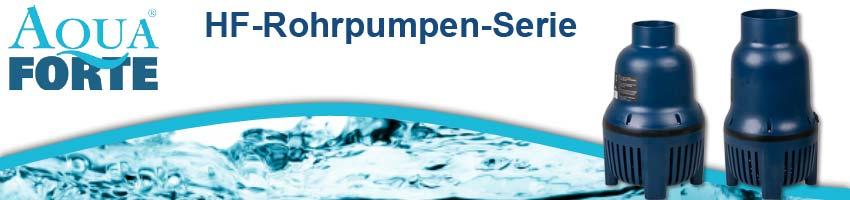 AquaForte HF-Serie Druchfluss Rohrpumpen für Teich