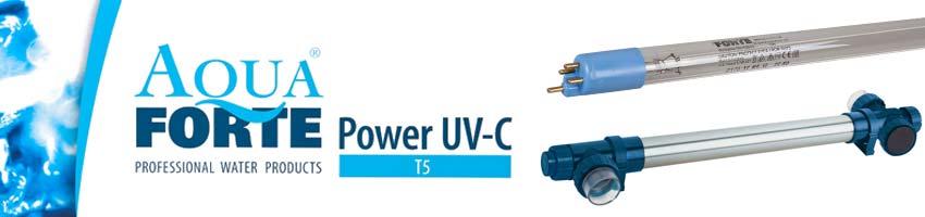 AquaForte Power UVC Teichklärer mit T5 Leuchtmittel