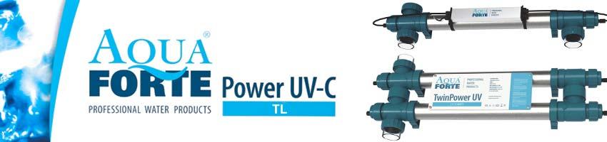 AquaForte Teichklärer Power UV Serie mit TL-Leuchtmittel