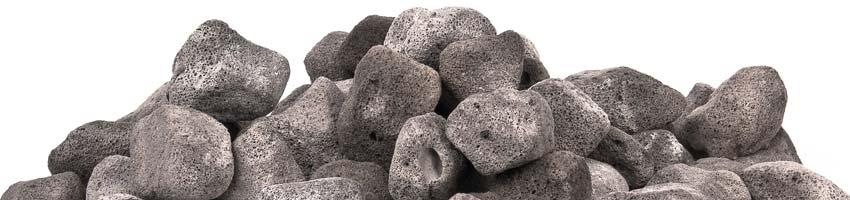 nahaufnahme des grauen filtergestein crystal bio-rock