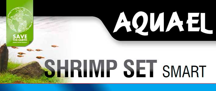 produkt banner Aquael Shrimp set mit smart led