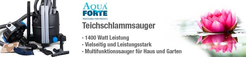 Jetzt den AquaForte Teichschlammsauger zum günstigen Preis bestellen!