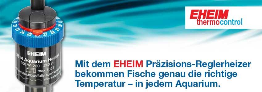 Banner EHEIM Jäger thermocontroll Aquarium Regelheizer
