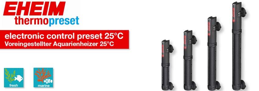 EHEIM thermopreset Voreingestellter Aquarienheizer Serie