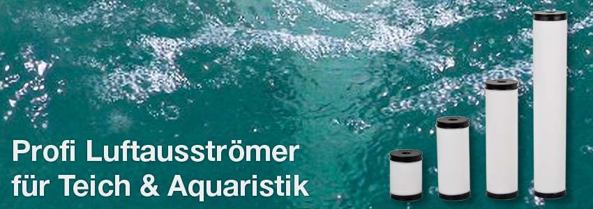 Profi Luftausströmer für Teich und Aquaristik