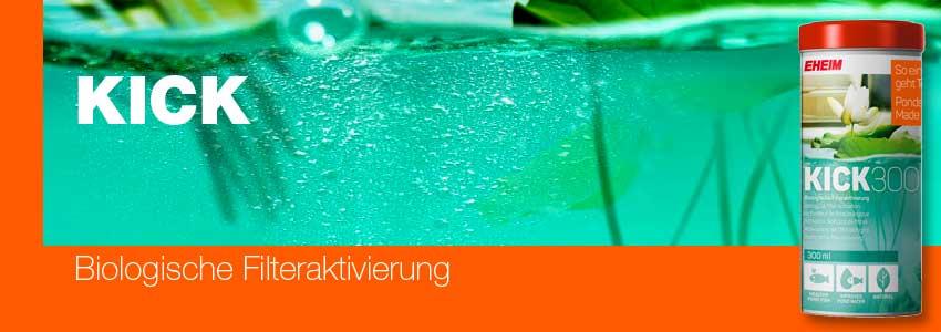 EHEIM KICK - biologische Filteraktivierung für Teichfilter