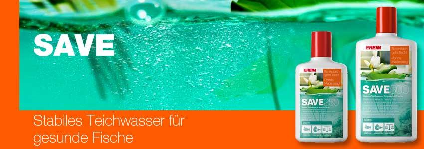 EHEIM SAVE - stabiles Teichwasser
