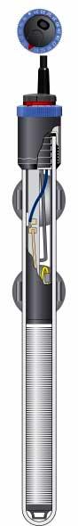 Querschnitt des Regelheizer thermocontrol von eheim