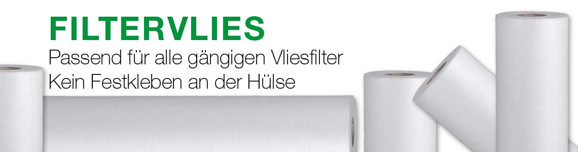 Produktbanner TOPCLEAR Filtervlies von Teichpoint für Fliesfilter Anlagen