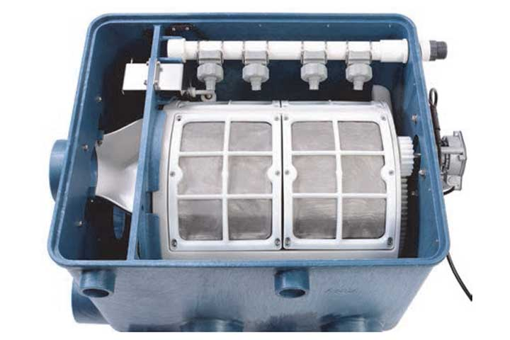 Der günstige Trommelfilter von AquaForte inkl. Steuerung