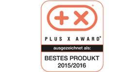 Logo Plus X Award