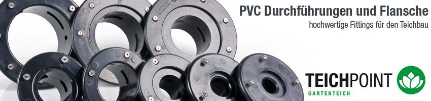 Tankdurchführung Folien Durchführung leichte Ausführung Profi Qualität von Teichpoint