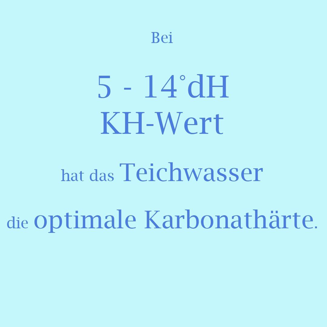 5 bis 14°dH KH-Wert