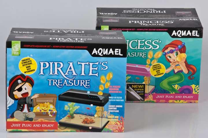 Kinder Aquarien PIRATES und PRINCESS von Aquael