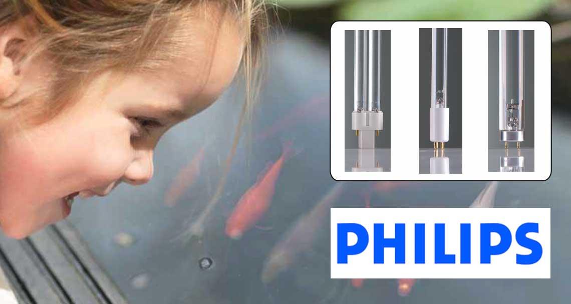 Philips UV-C Lampen, optimal für Fisch- und Koi Teich