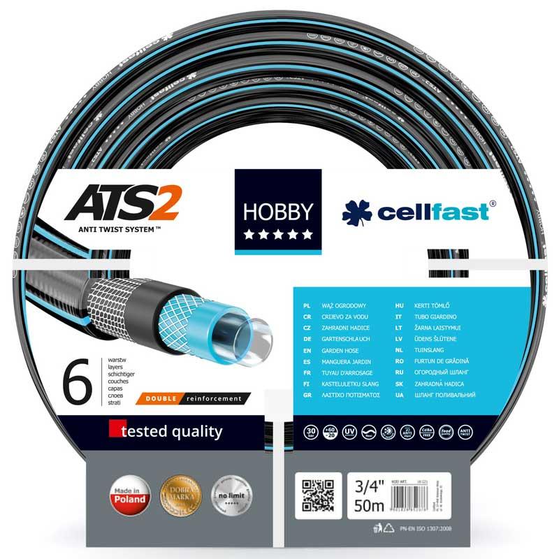 der Gartenschlauch HOBBY AST2 von Cellfast