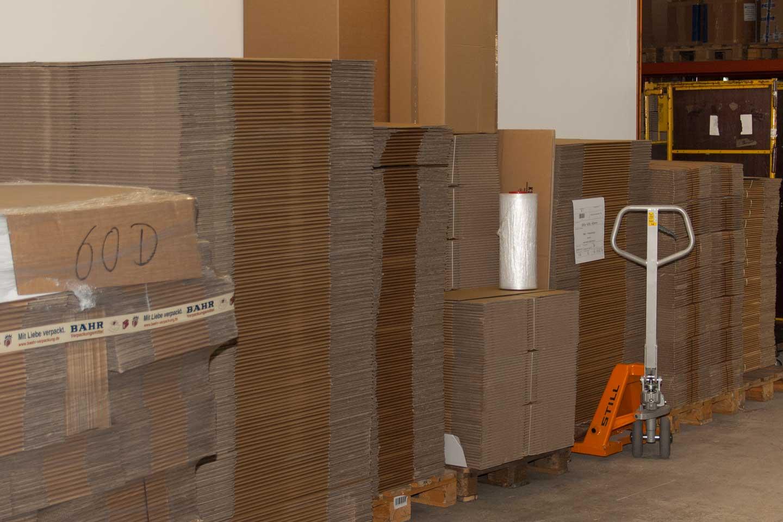 verpackungsmaterial und kartonage