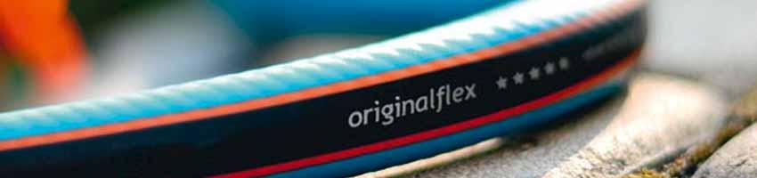 Der blaue Gartenschlauch originalflex von cellfast