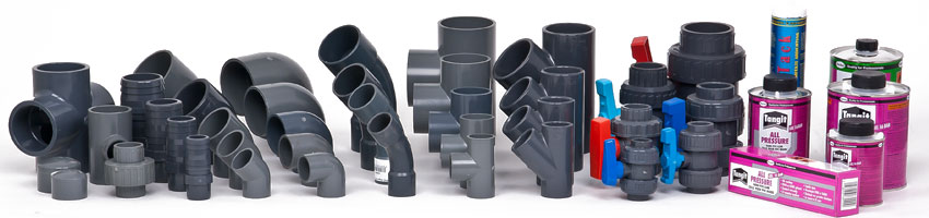 PVC Fittings und PVC Klebefittings